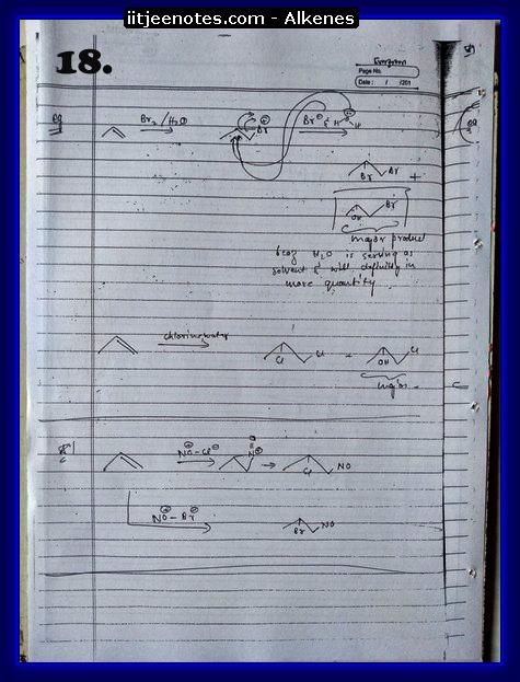 Alkenes Notes8