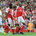 see how kanu nwankwo made nigeria proud with a hat trick in arsenal legends 4 - 2 win over ac milan legends
