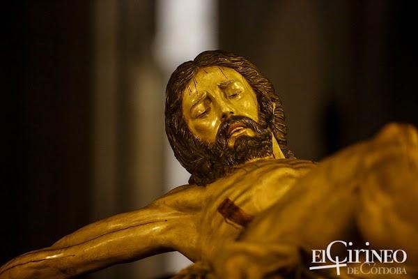 El Cristo de la Buena Muerte de Córdoba irá a la Mezquita Catedral para su Fiesta de Regla