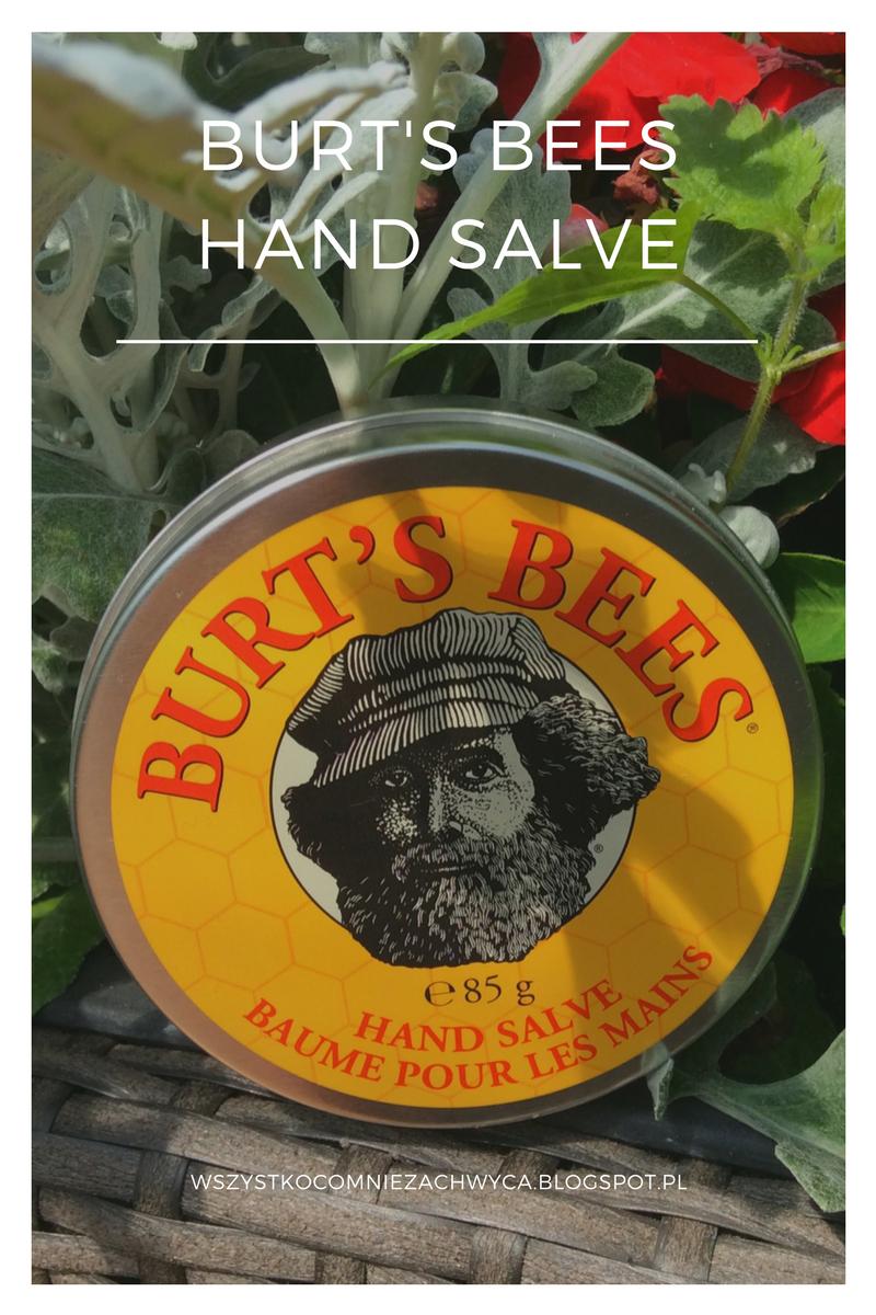 Burt's Bees Hand Salve, maść do suchych i szorstkich dłoni