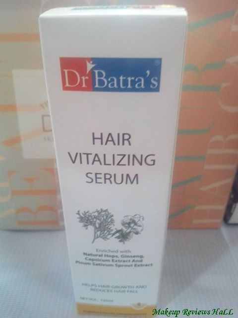 Dr. Batra's Hair Vitalizing Serum Review