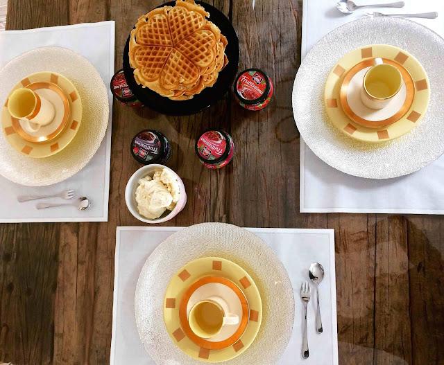 So schön golden kann Herbst sein - leckere Waffeln nach Omas Rezept by #queenofküchenchaos
