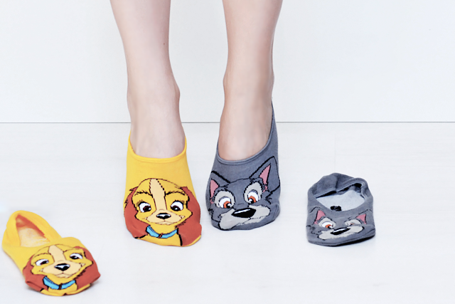Primark shoplog 2015, by belgian fashion blogger, primark hasselt. Lady and the tramp, socks, ankle socks, primark, june 2015, disney. Inspiration, haul