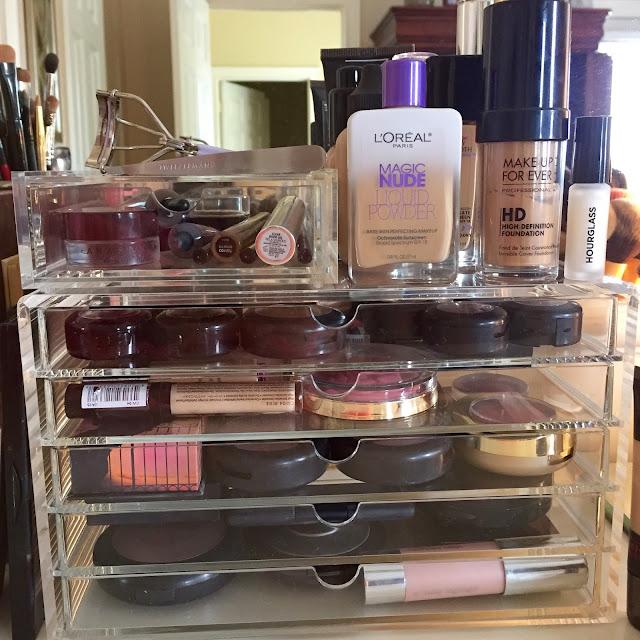 Muji, Makeup, Acrylic, Storage