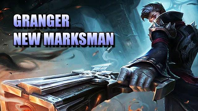 Granger merupakan salah satu hero marksman di Mobile Legends. Dia merupakan marksman dengan specialty Reap/Burst, dengan demikian dia bisa memberikan damage yang sangat besar pada targetnya. Specialty ini sangat sesuai karena Granger bisa memberikan critical damage yang benar-benar terjadi pada peluru keenamnya.