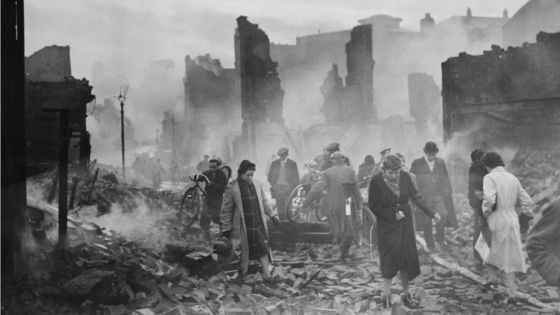 14 November 1940 worldwartwo.filminspector.com Coventry Blitz