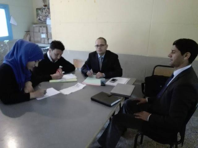 مدرسة سيدي بوسكري بسميمو تحتضن الإقصائيات الإقليمية لمديرية الصويرة في مسابقة أولمبياد تيفيناغ الوطنية 2017
