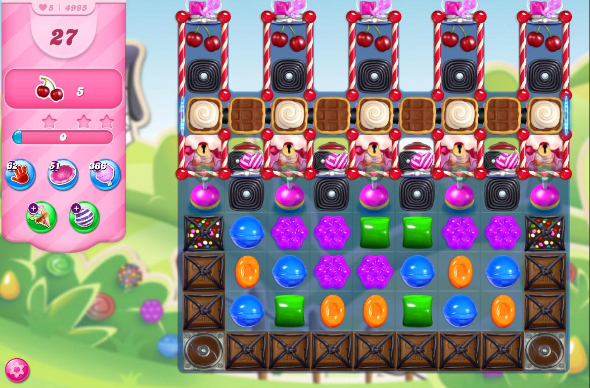 Candy Crush Saga level 4995