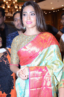 Shriya Saran Looks Stunning in Silk Saree at VRK Silk Showroom Launch Secundrabad ~  Exclusive 152.JPG