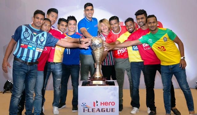Hero I-League 2016-17 launch