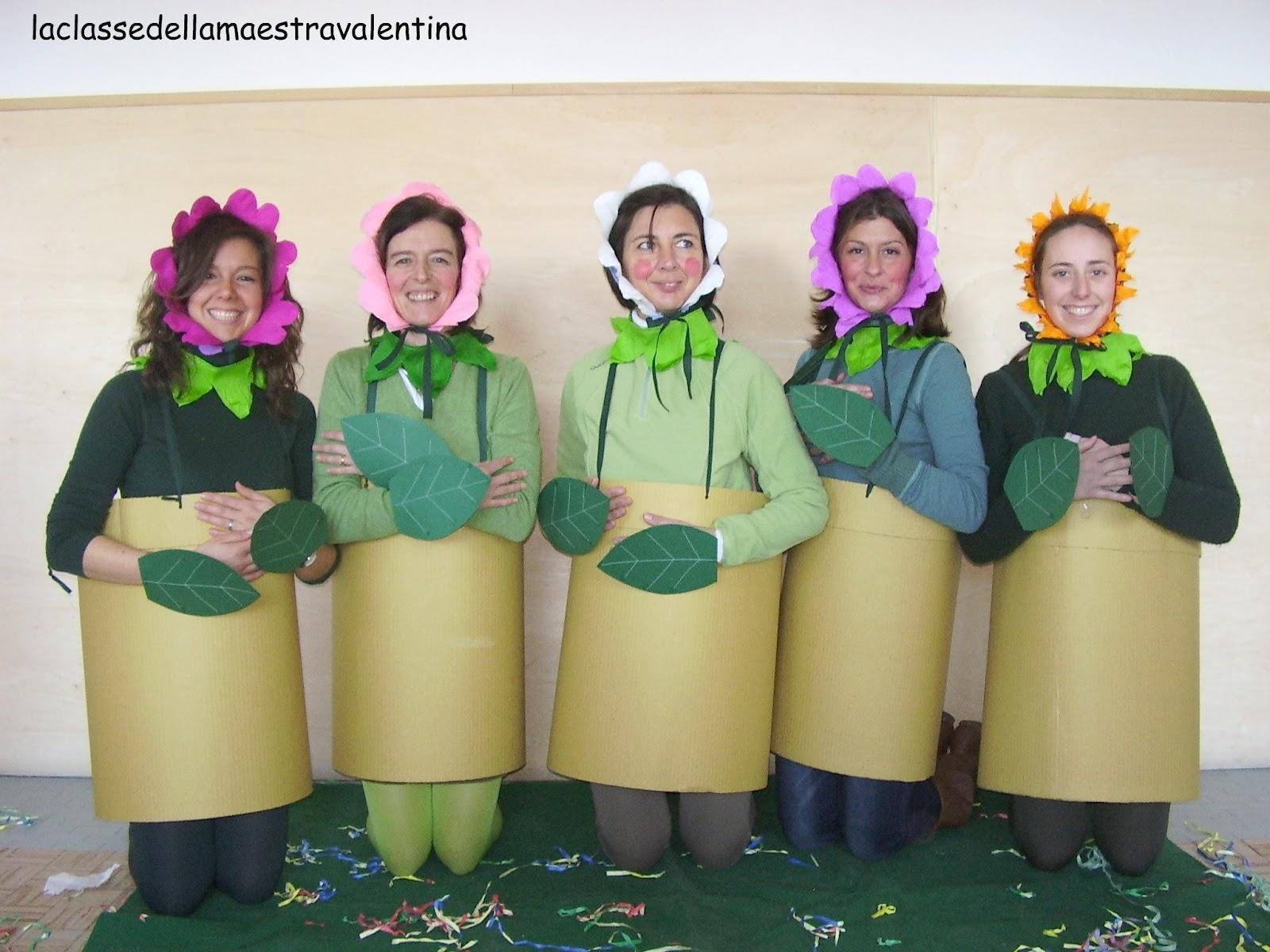 La classe della maestra valentina la festa di carnevale for La maestra valentina