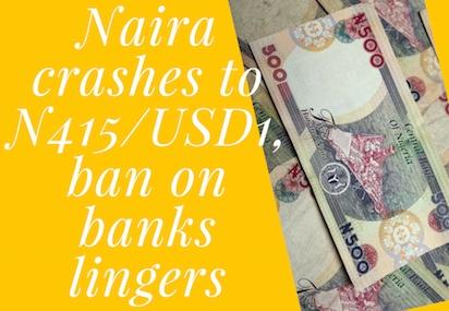 Naira-Dollar exchange rate