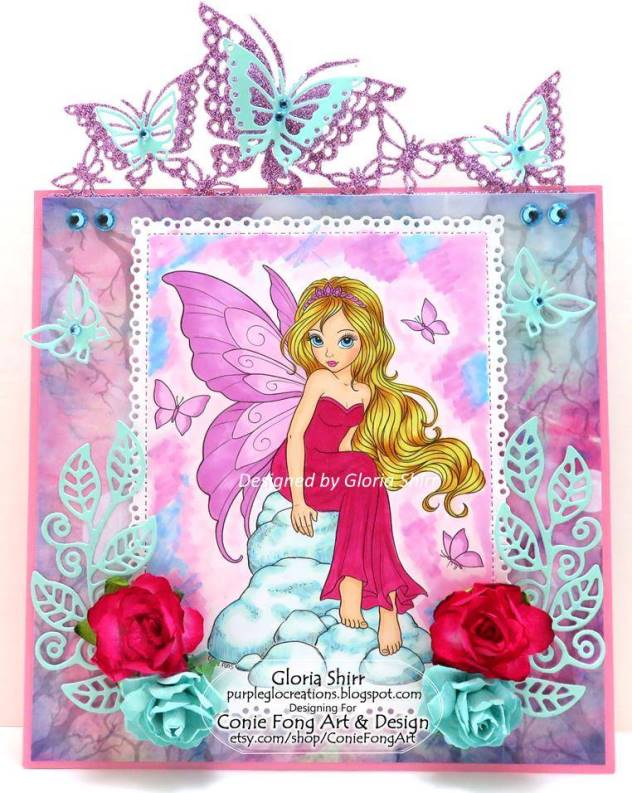 Featured Card for The Fairy and Unicorn Challenge Blog