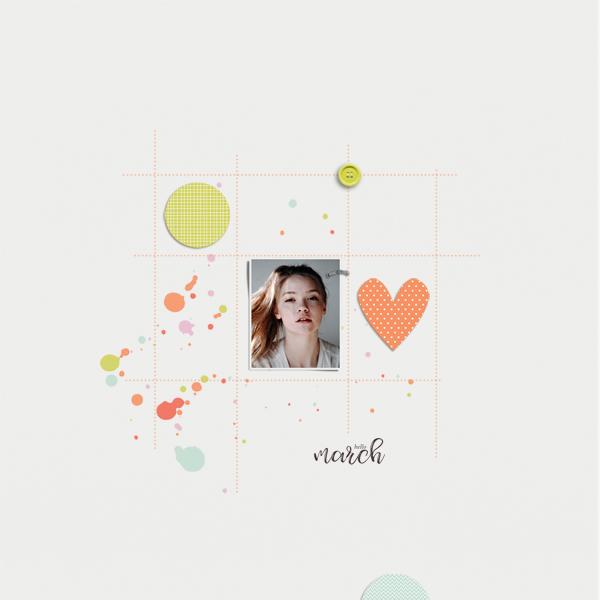 hello march © sylvia • sro 2018 • hello march by dunia designs