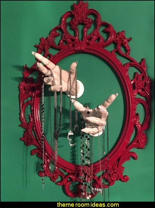 Vampire  Dracula hands  Wizard Hand  wall hooks