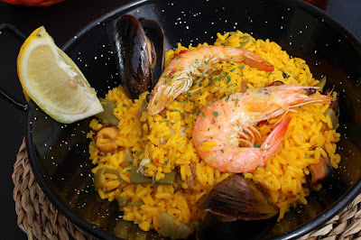 Manger une paella à San Sebastian