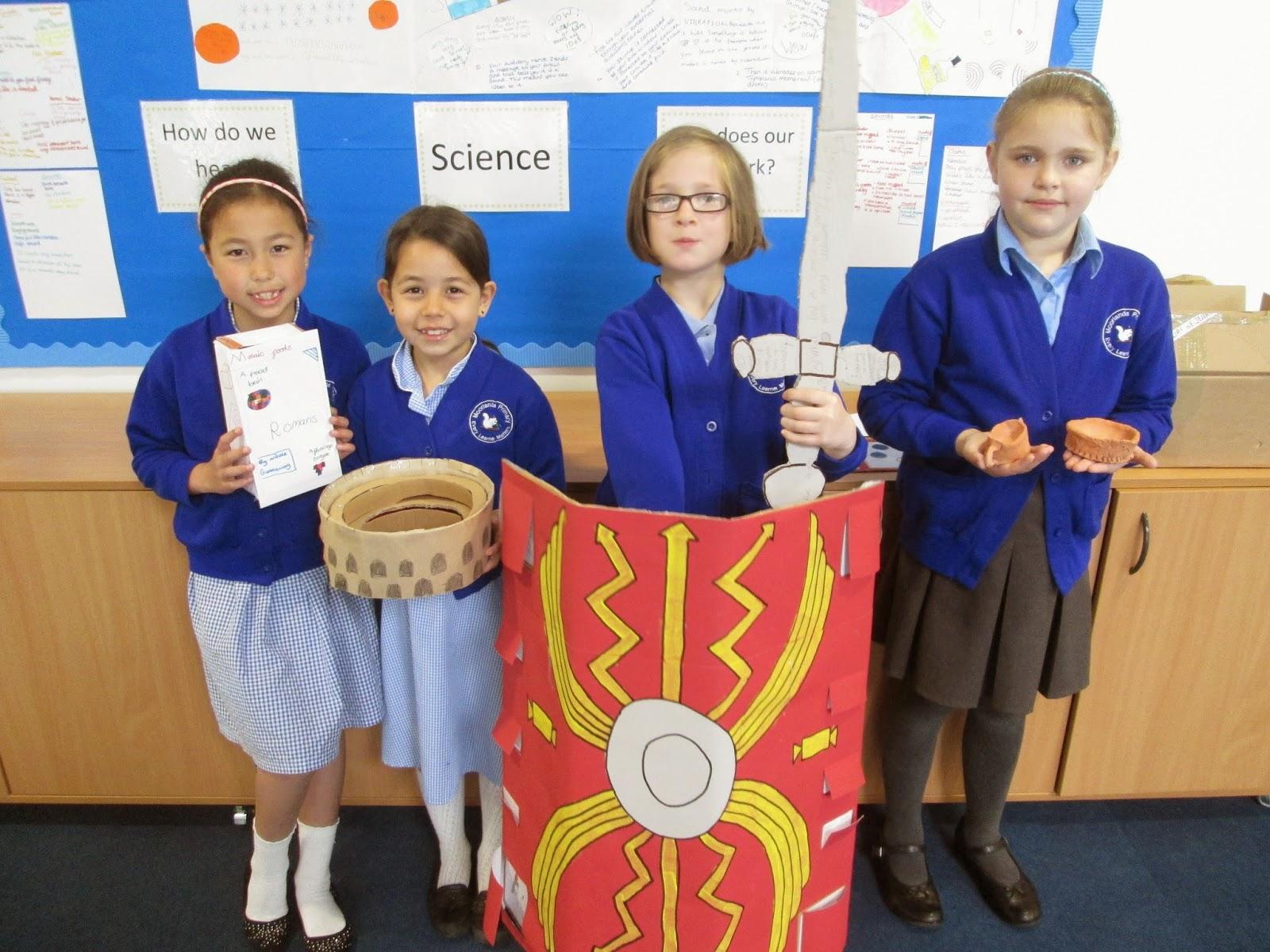 Roman towns primary homework help