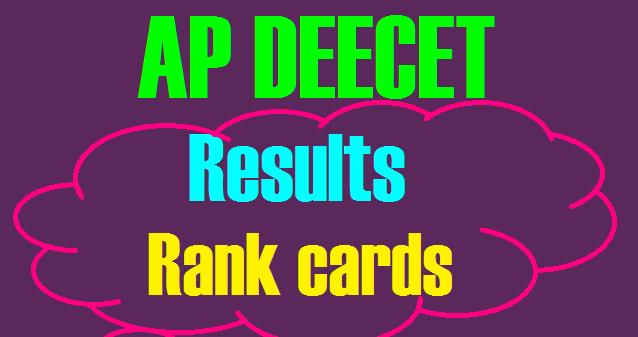 Manabadi AP DEECET {DIETCET} Results 2018 Rank cards Download