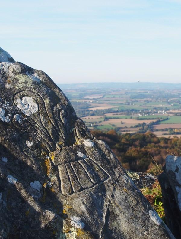 La roche du feu, Gouézec - Bretagne, France