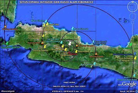 Situs Cipaku Jatigede Jeung Kasaimbangan Alam Fibonacci