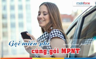 Đăng ký gọi miễn phí 02 số với gói cước MPNT Mobifone