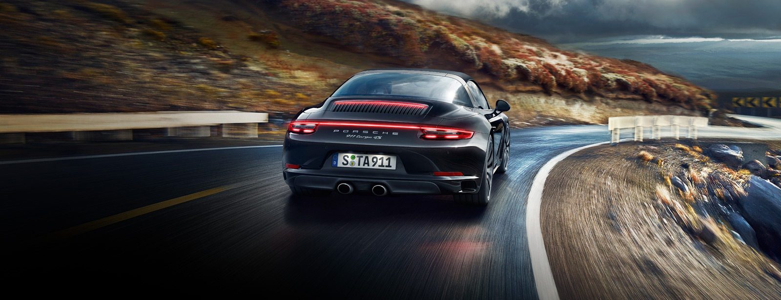 Porsche The new 911 Targa 4S