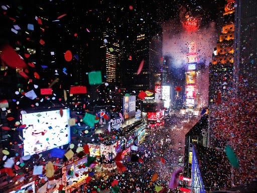 Happy New Year 2019 Eve Celebration New York City  Beautiful