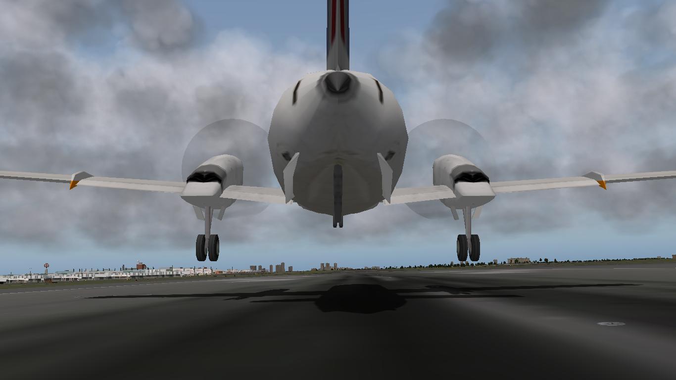 X-Plane: Embraer 120 Brasilia
