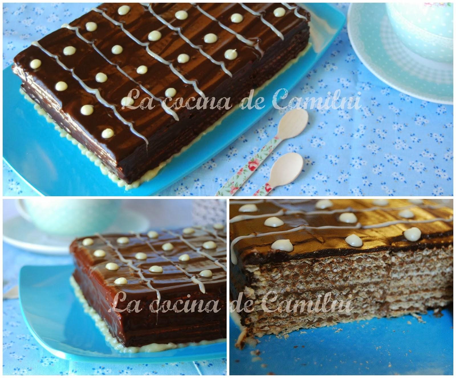 Tarta huesitos (La cocina de Camilni)
