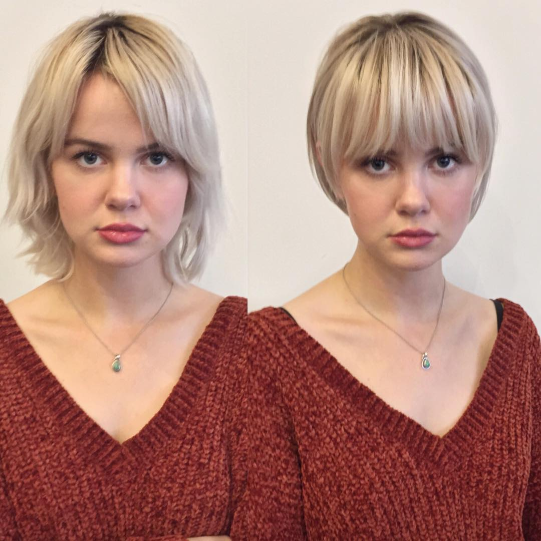 10 Trendy Before And After Transformations From Long Hair To Short Hair Live Style