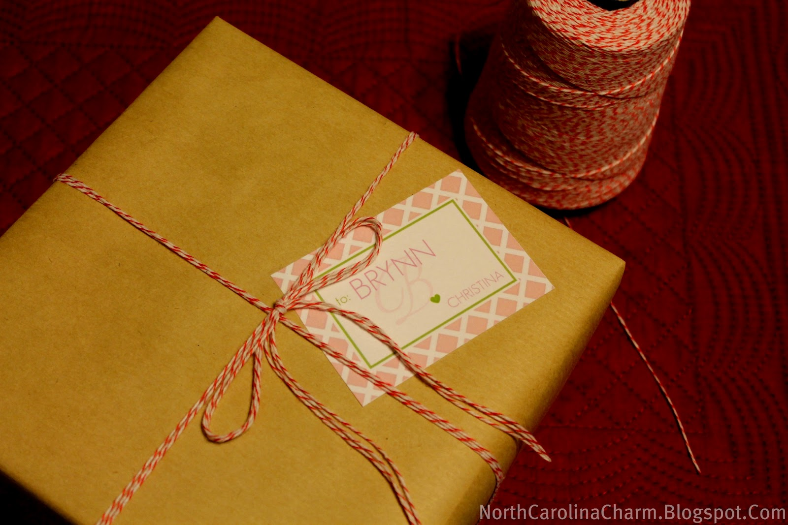Baker's Twine Gift Wrapping