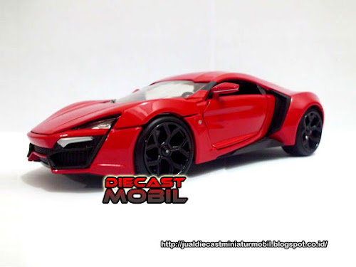 Lykan HyperSport Fast & Furious Red