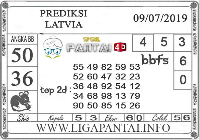 """PREDIKSI TOGEL """"LATVIA"""" PANTAI4D 9 JULI 2019"""