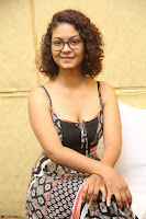 Actress Aditi Myakal Looks gorgeous in Sleeveless Deep Neck Top at Ami Tumi success meet ~  Exclusive 088.JPG
