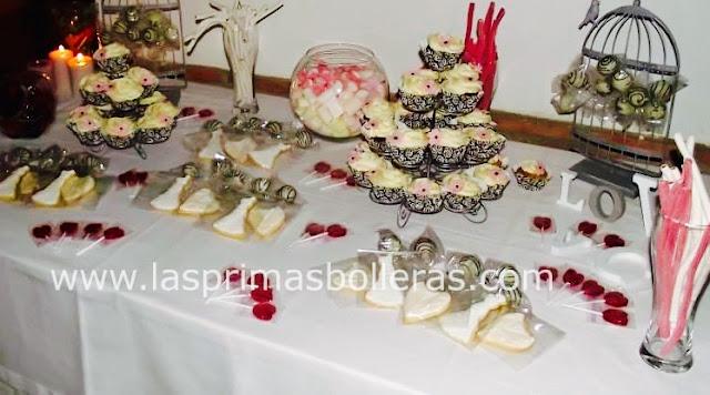 Mesa de dulces patra bodas mediterráneas