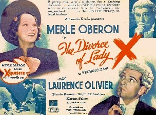 Resultado de imagen de The Divorce of Lady X.