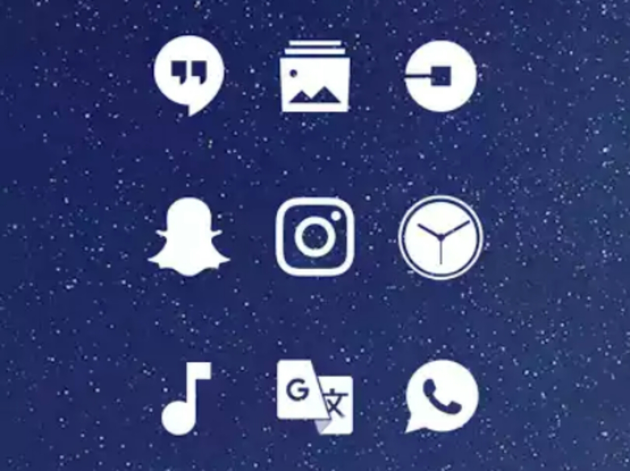 Whicons icon pack