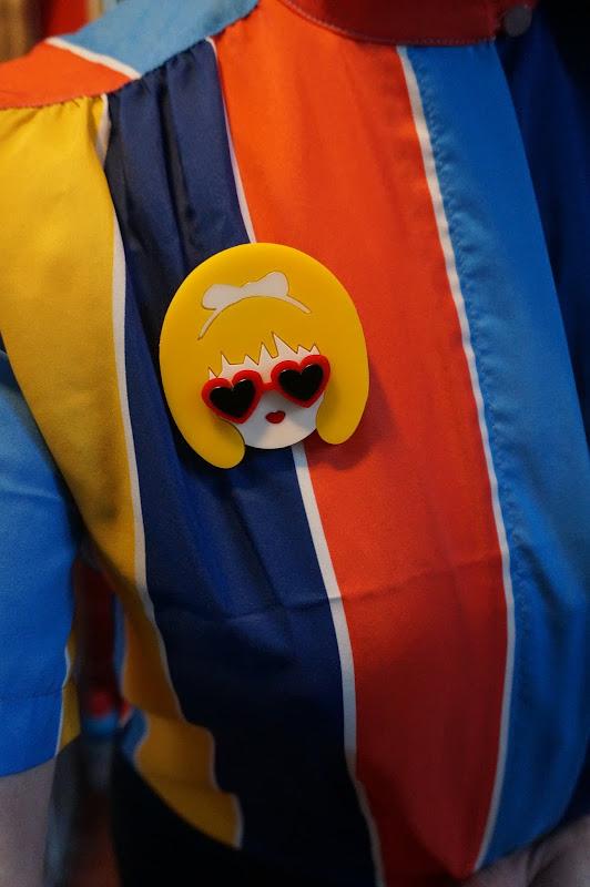 lolita  humbert nabokov brooch heart sunglasses