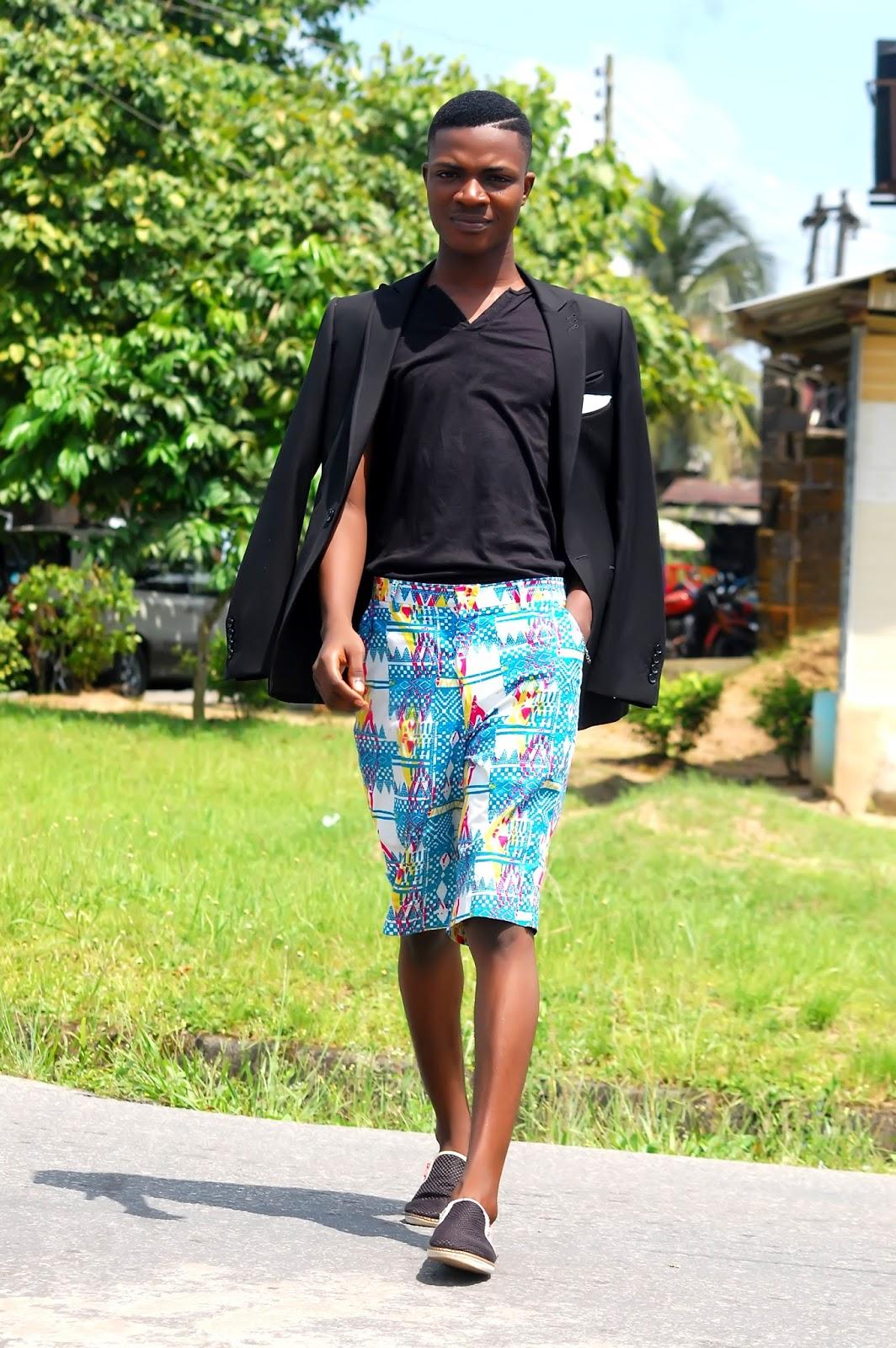 Ankara beach shorts for men