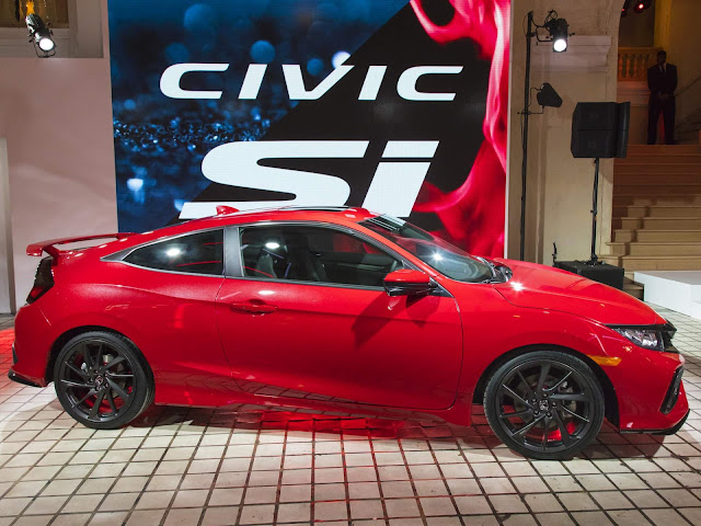 Novo Honda Civic Si 2017