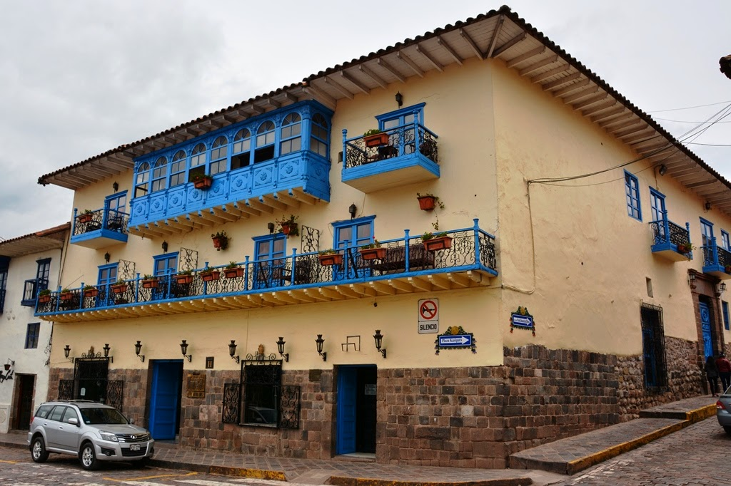 General Impressions of Cusco balconies