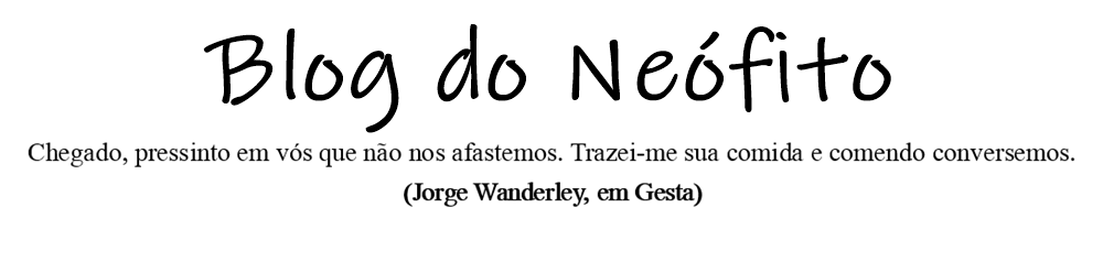 Blog do Neófito