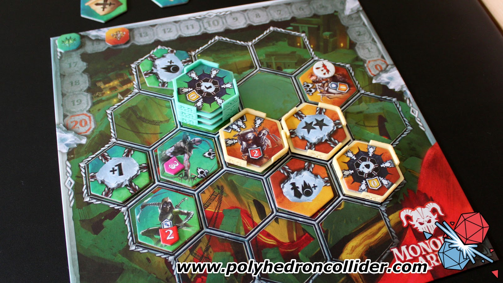 Monolith arena Neuroshima Hex board game review