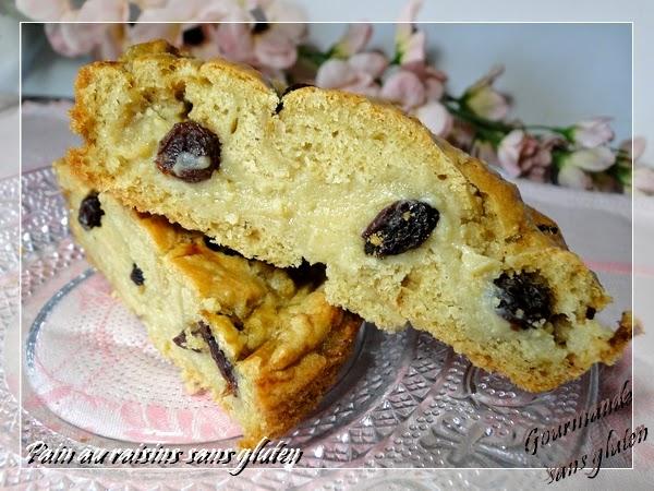 pains aux raisins sans gluten