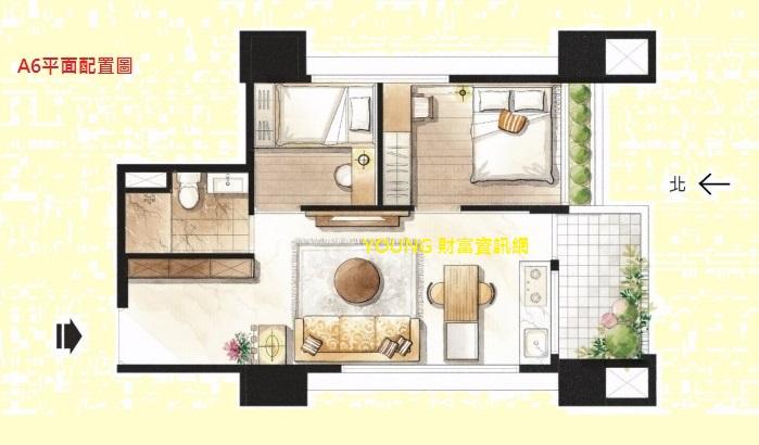 Young 財富資訊網: 文華匯 魅力城市NO.1---輕鬆入主 七期小豪宅!