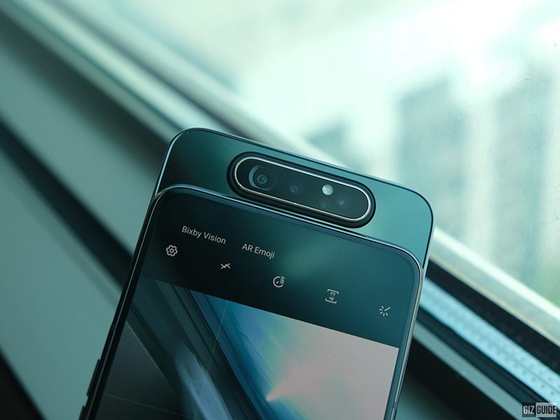Top 5 highlights of Samsung Galaxy A80