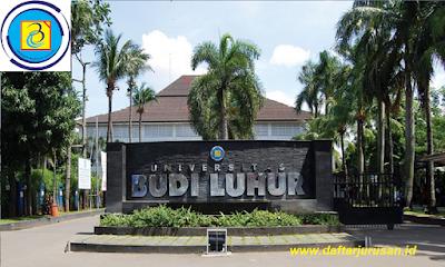 Daftar Fakultas dan Jurusan Universitas Budi Luhur Jakarta