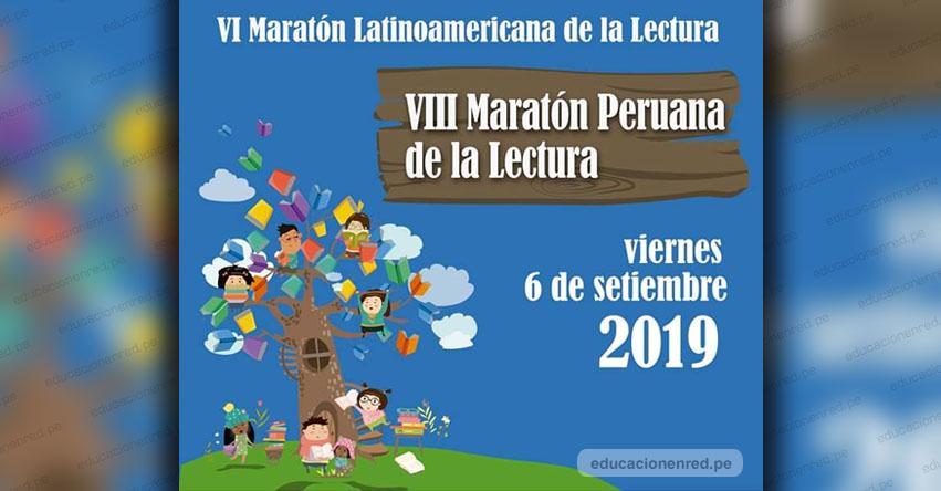 Escolares se unen a la Maratón Peruana y Latinoamericana de la Lectura
