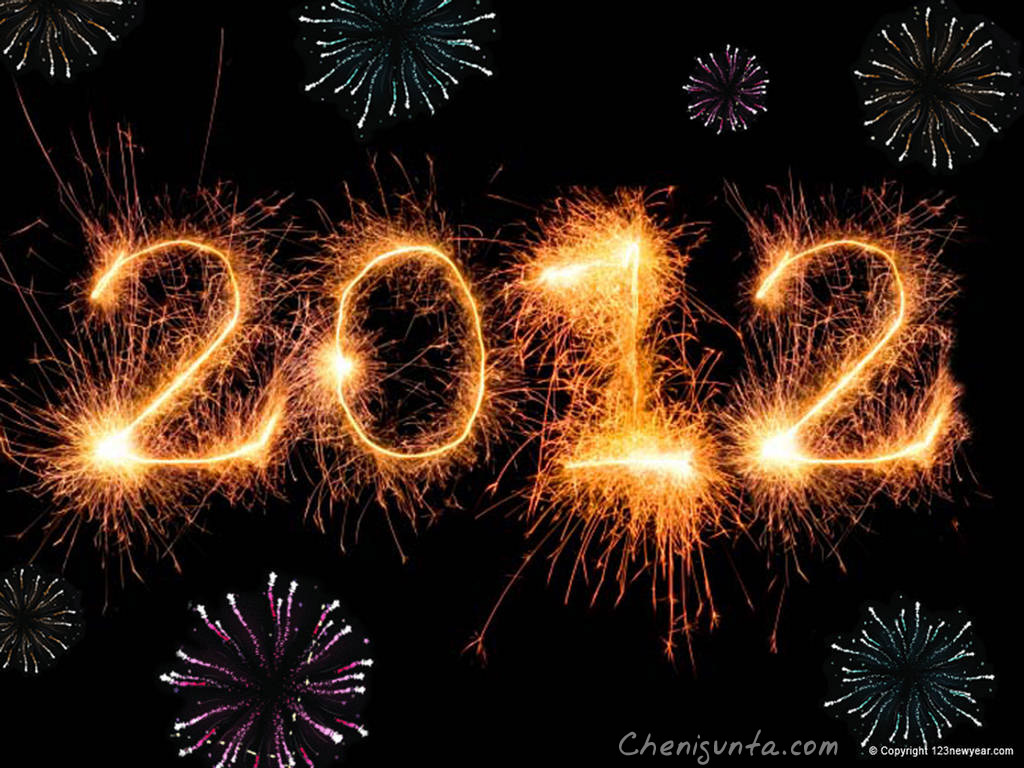 2012 Happy New Year Wallpapers HQ 2012 3D Wallpapers