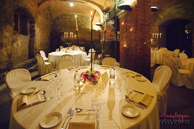 sala da pranzo matrimonio Villa Sparina Gavi
